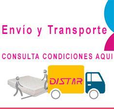 colchones envío y transporte